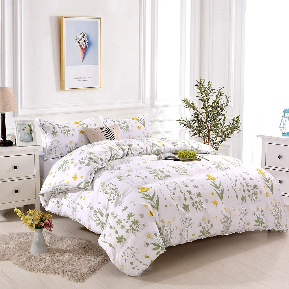 Beautiful Floral Bedding