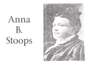 Great Women of the Grand Prairie #2: Anna B. Stoops