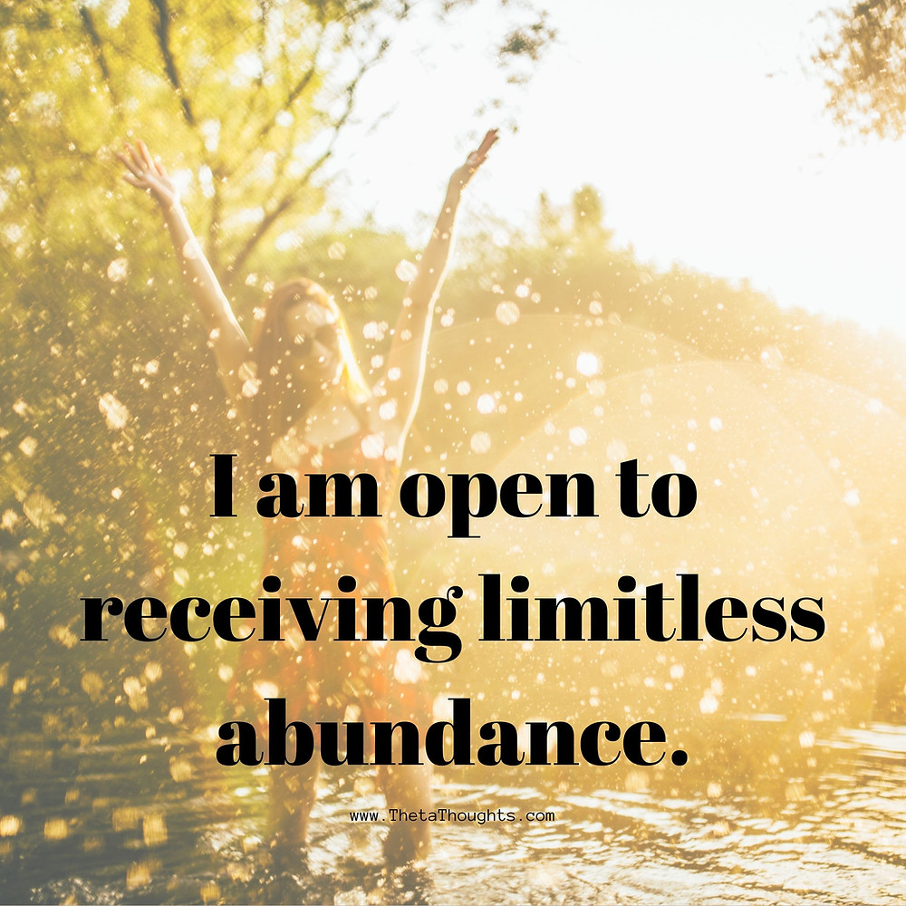 Positive Affirmations to attract money.
