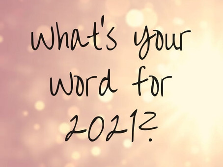 Discover Your Word for 2021