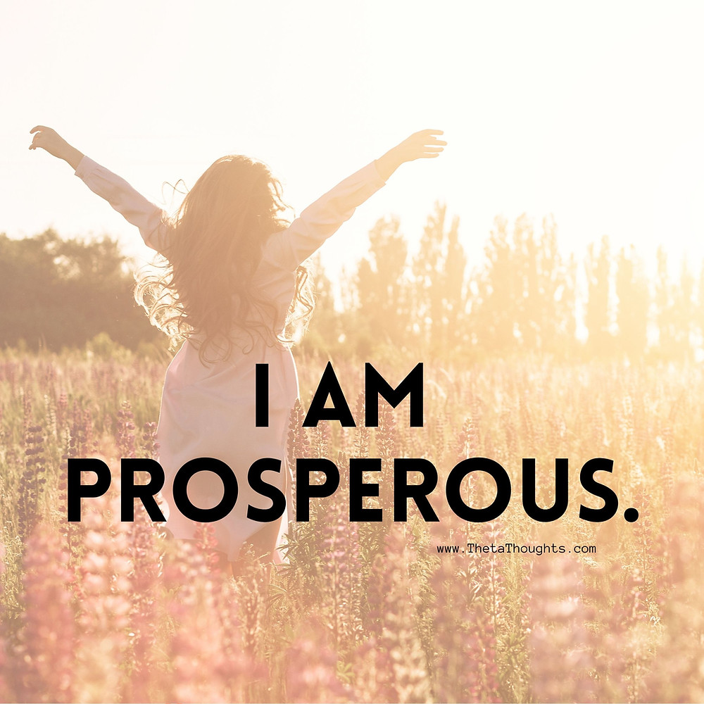 Affirmations to attract abundance and prosperity.