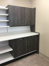 Wall Unit with Narcotics Cabinets