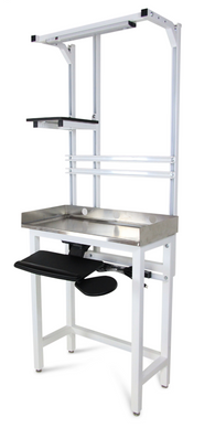Work Station with Stainless Steel Top