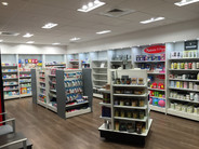 Pharmacy Retail Display Shelving