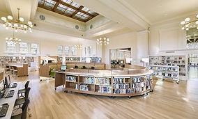 Library Media Center Shelving Furniture