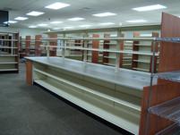 LTC Pass Thru, Adjustable and Tiltable Shelves, Wire Cart