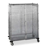 Locking Mobile Wire Cart