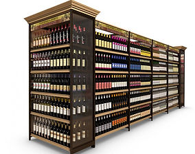 Grocery and Liquor Shelving
