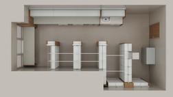InPatient Clinic Overview 3-D Floor Plan