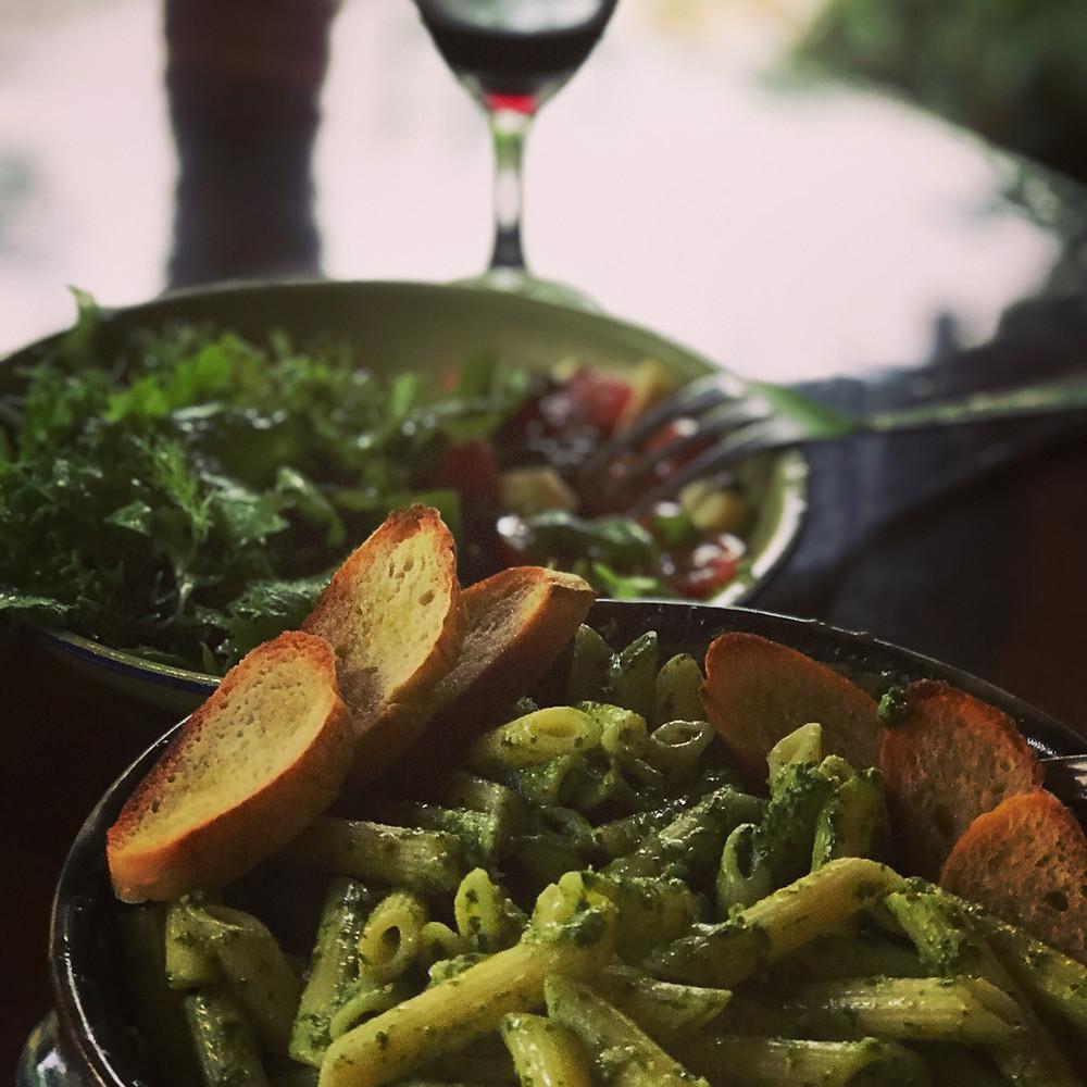 Pesto Pasta made easy