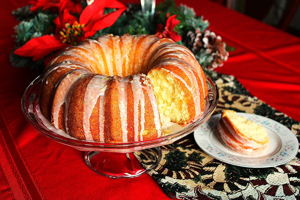Lemon Buttermilk Bunt Cake