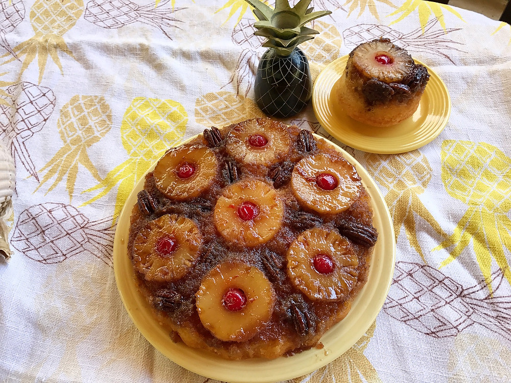 Fast Pineapple Upside down Cake