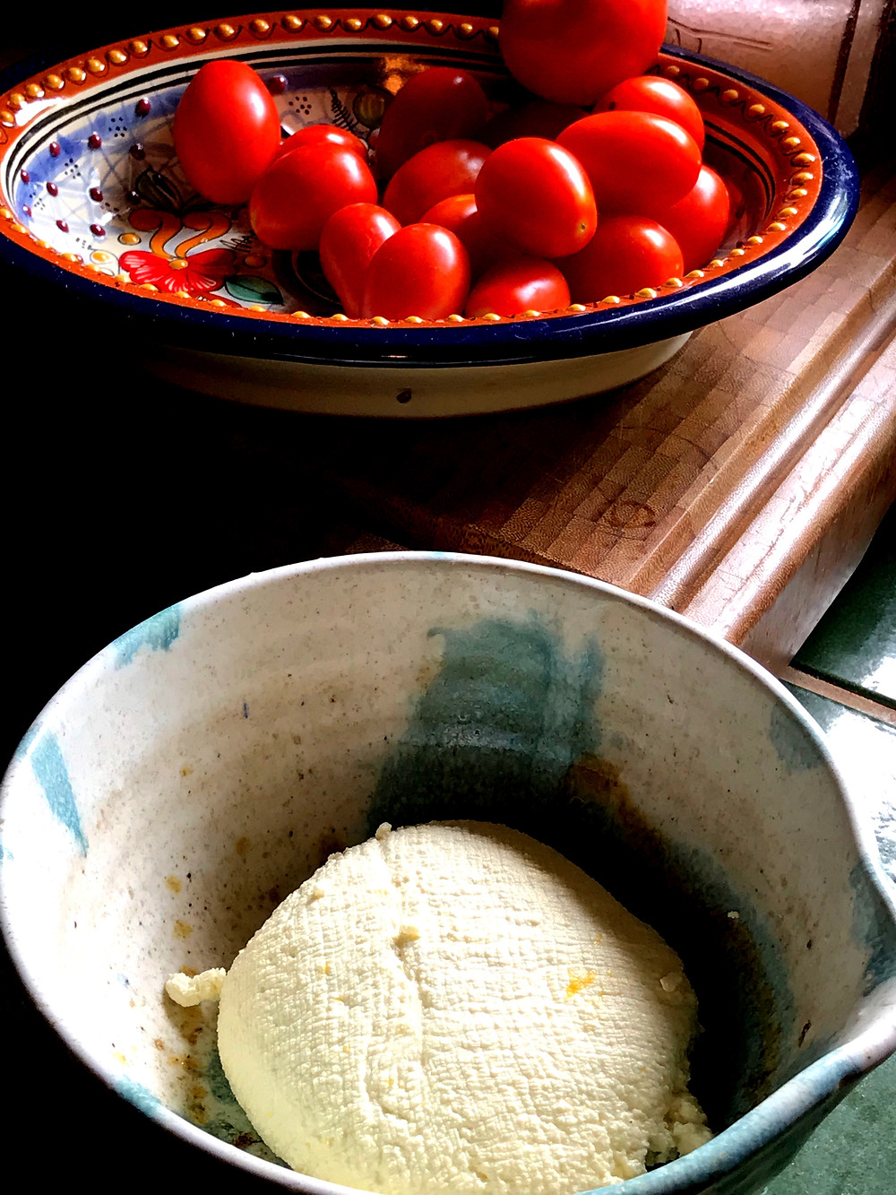Easy Ricotta Cheese