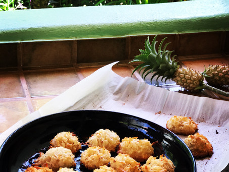 Coconut and Almond Macaroons