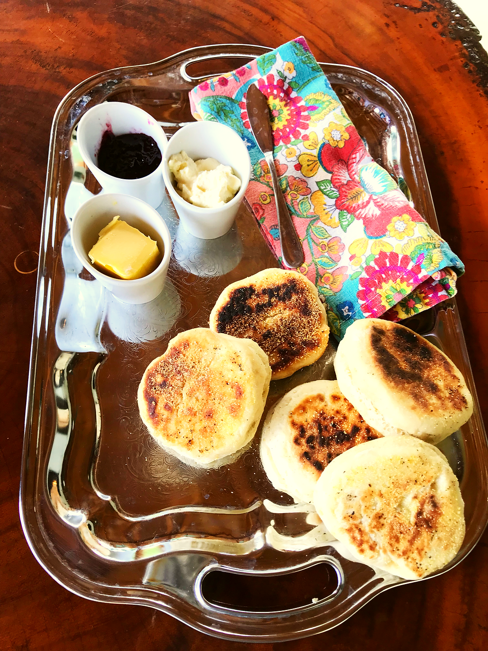 Sour Dough English Muffins
