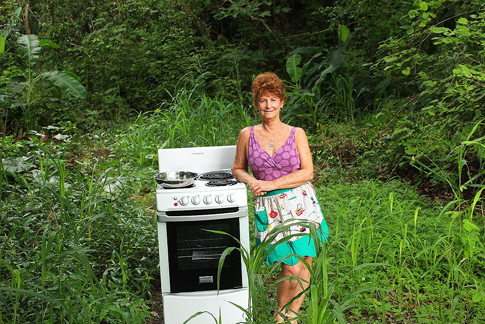 cooking in the jungle
