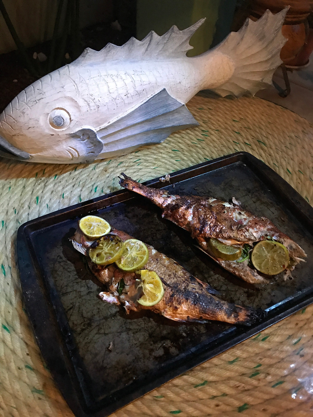 BBQ Red Snapper