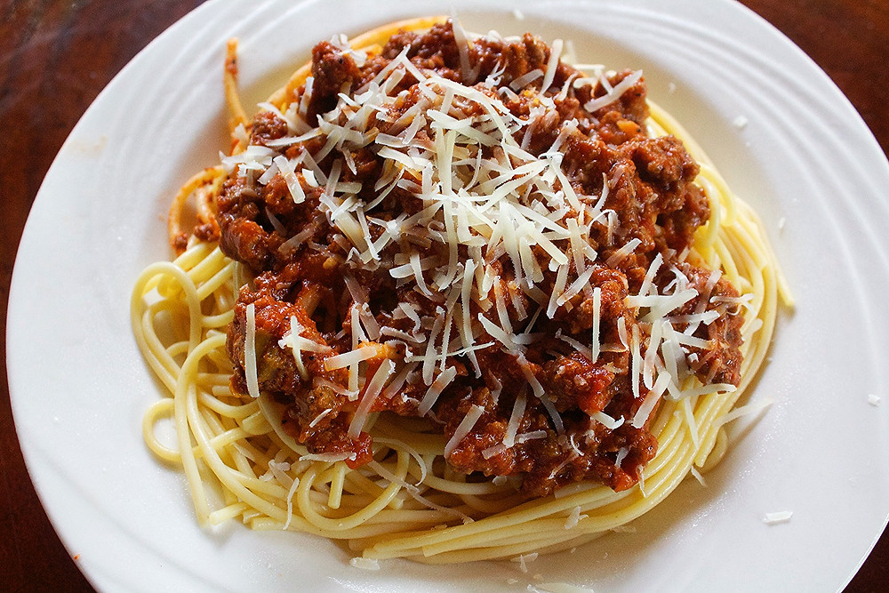 Bolognese Pasta with love
