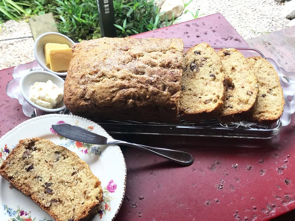 Apple Pecan breakfast bread