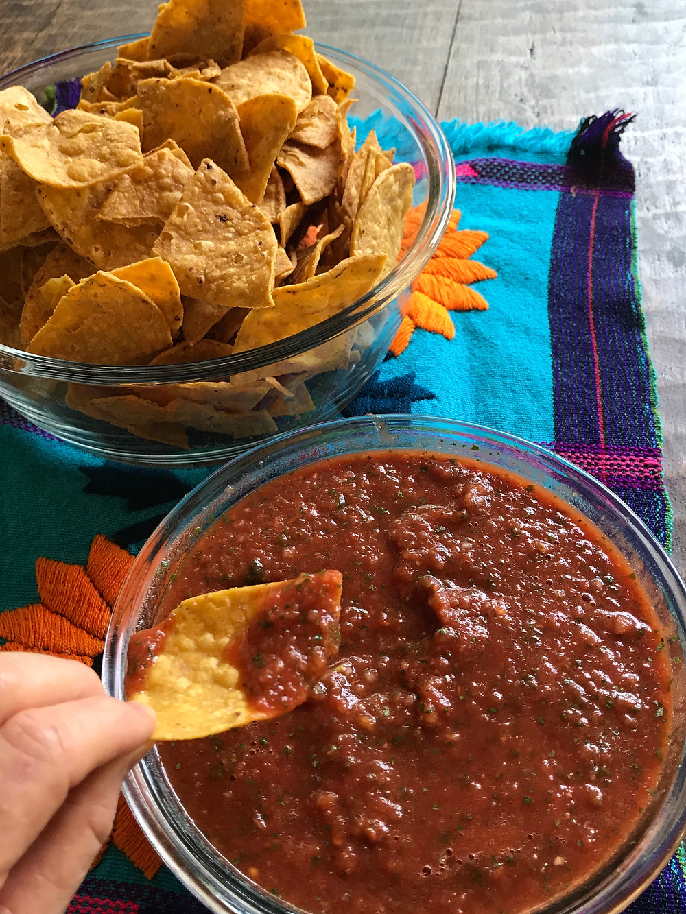 Easy and fast restaurant style Salsa