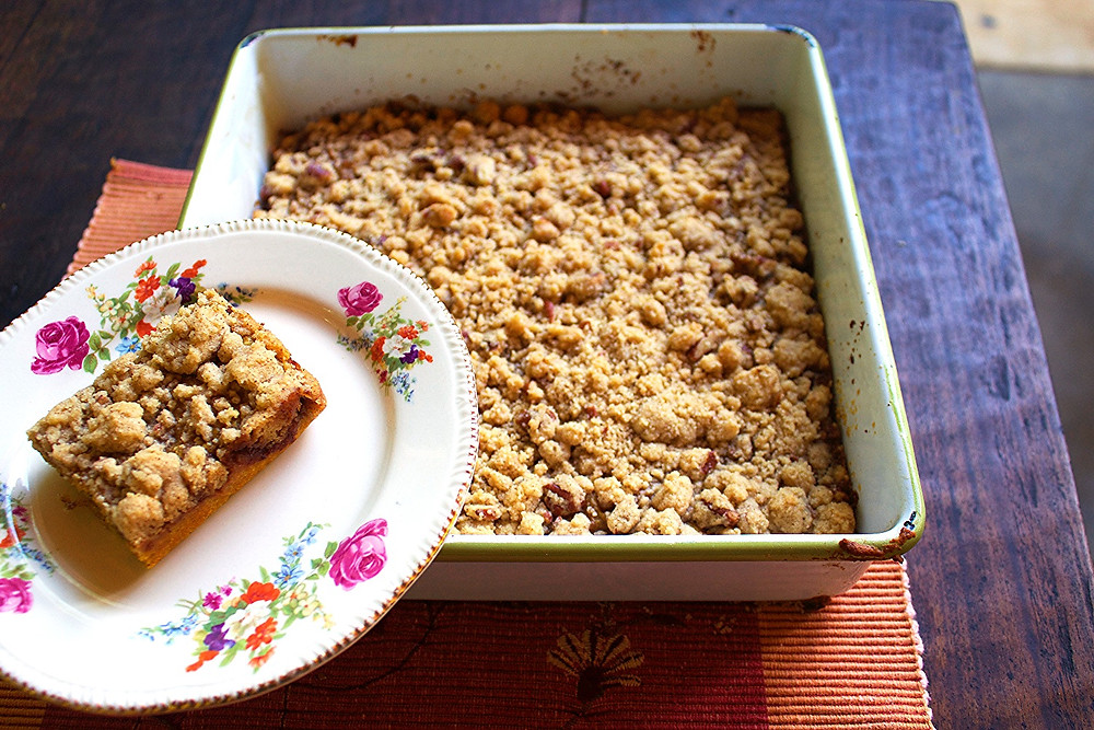 Pumpkin Bars with Strudle