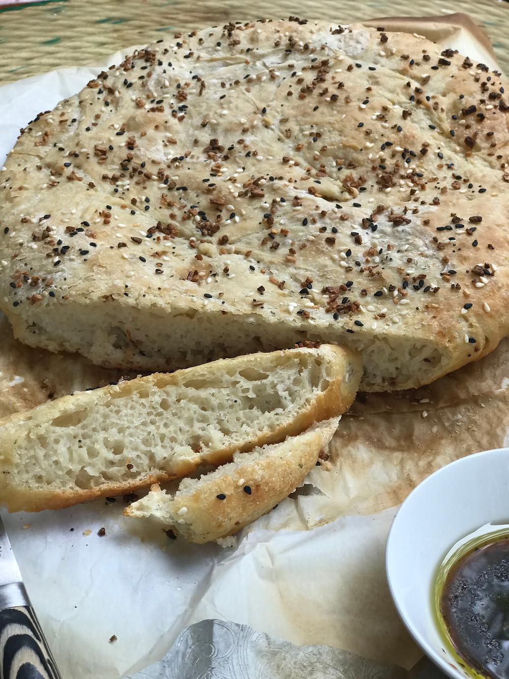 sourdough dipping bread