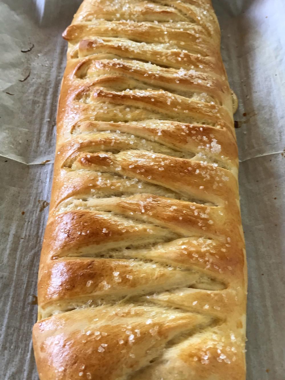 Cream Cheese and Raspberry pastry.
