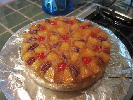 Super Simple Pineapple Upside Down Cake