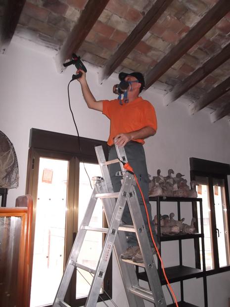 Trabajos de restauración