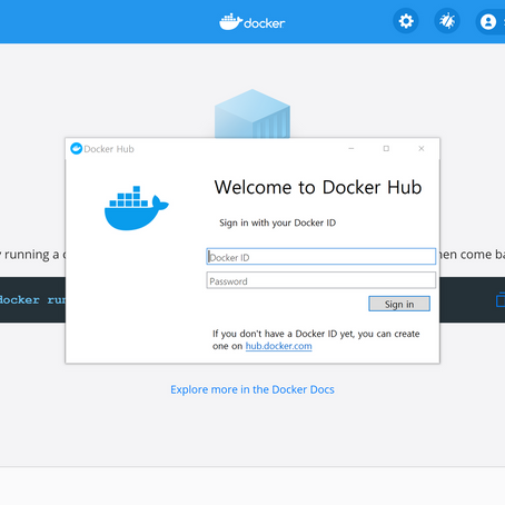 Docker Window 환경 세팅