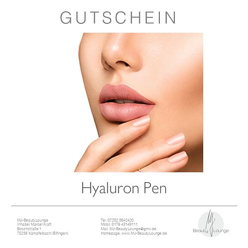 Anwendungsgutschein Hyaluron Pen