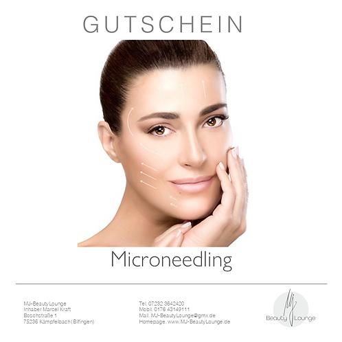 Anwendungsgutschein Micro Needling