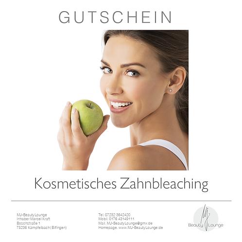 Anwendungsgutschein Kosmetisches Zahnbleaching