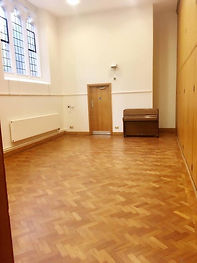 Adjoining to the Nave - great for breakout space or smaller meetings.