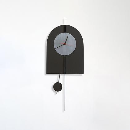 שעון קשת שחור גרפיט/אלומיניום