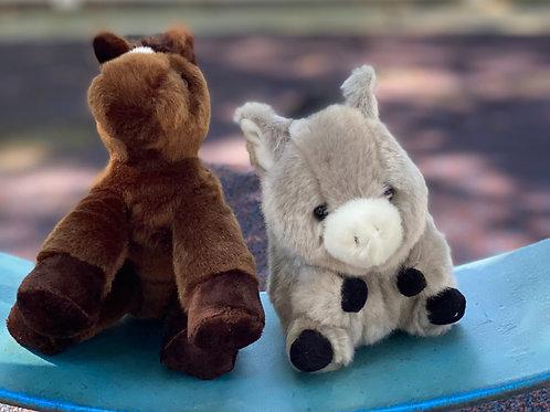 New Churro and Captain Stuffed Animals