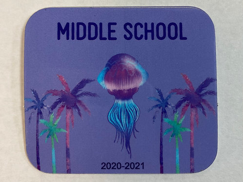New Jellyfish MS Sticker