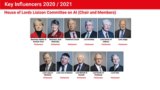 House of Lords Liaison Committee on AI (