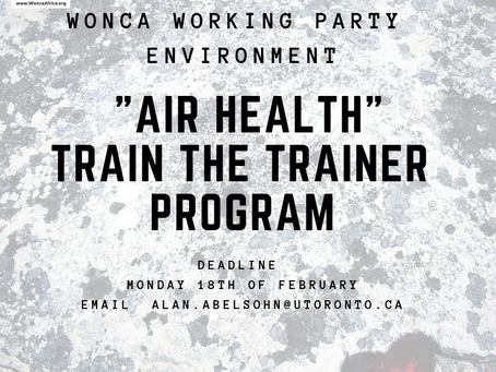 Air Health - Train the Trainer Program
