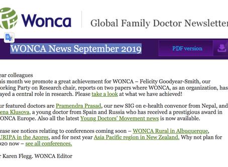 WONCA News September 2019