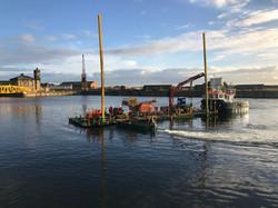Nato Pontoon, Hiab Crane and Boat