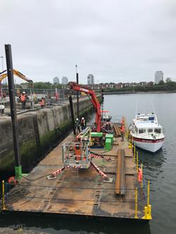 Hiab Crane, Nato Pontoon and Boat