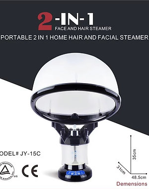 2 in1 Hair and Face Steamer