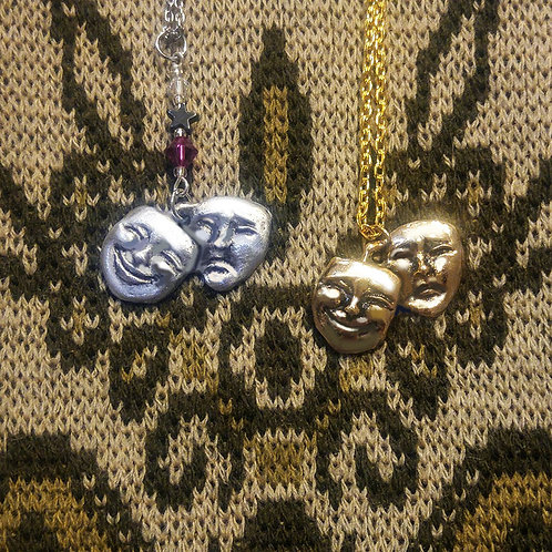 Comedy Tragedy Theatrical Masks