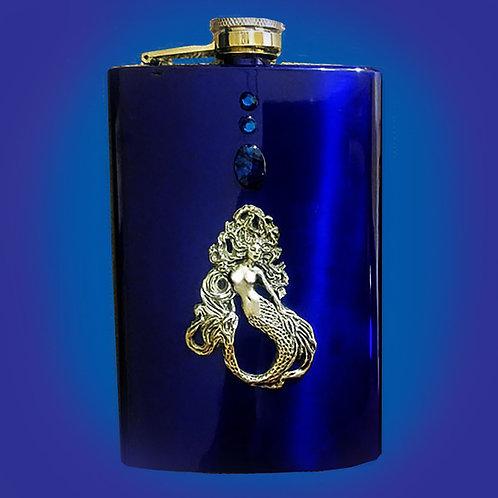 Upright Mermaid Flask