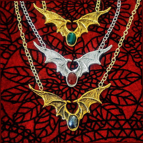 Jeweled Wing Necklace