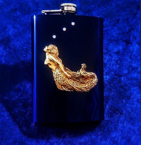 Curved Mermaid Flask