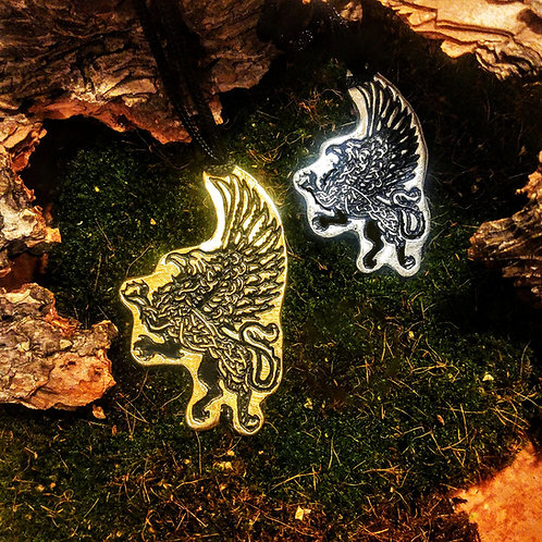 Griffin Medallions