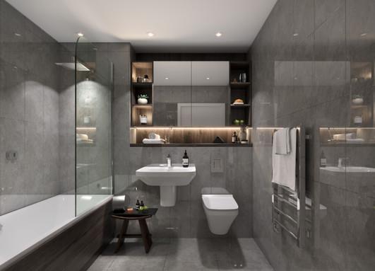 Elizabeth Tower - Bathroom