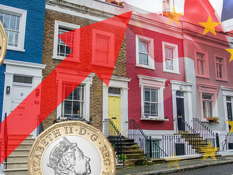 Why is it a good time for foreign investors to buy a property in the UK?